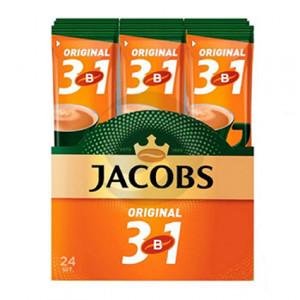 Кофе Jacobs (стик) 3 в 1 ORIGINAL 12г 24шт