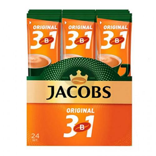 Кава Jacobs (стік) 3 в1 ORIGINAL 12г 24шт