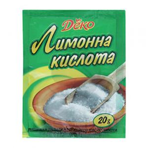 Деко Лимонна кислота 20г
