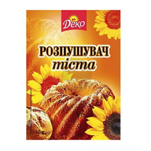Деко Разрыхлитель теста 15г