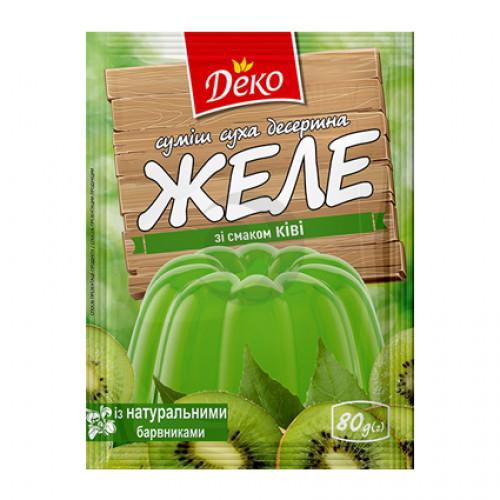Желе зі смаком Ківі Деко 80г