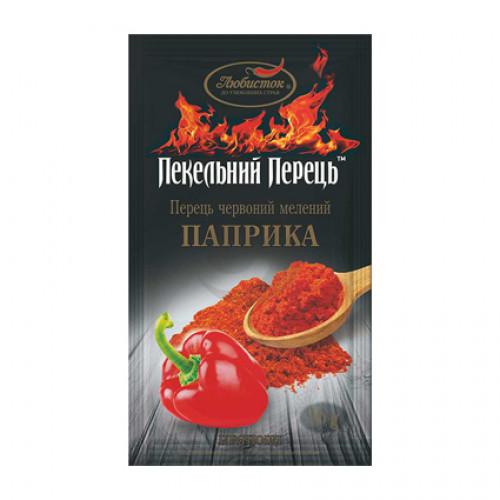 Пекельний перець Любисток Червоний Мелений ПАПРИКА 16г