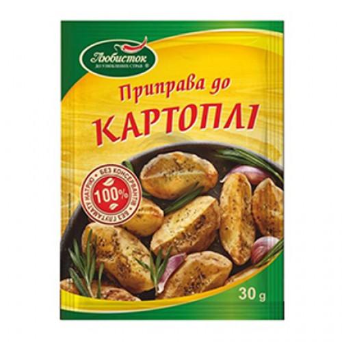 Любисток КЛАСИЧНА Приправа 30г до Картоплі