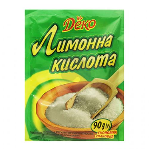 Деко Лимонна кислота 90г