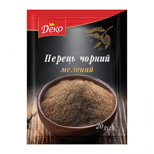 Перець Чорний мелений Деко 20г