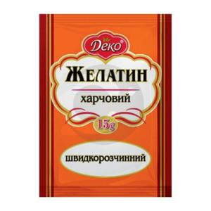 Деко Желатин 15г / 200шт