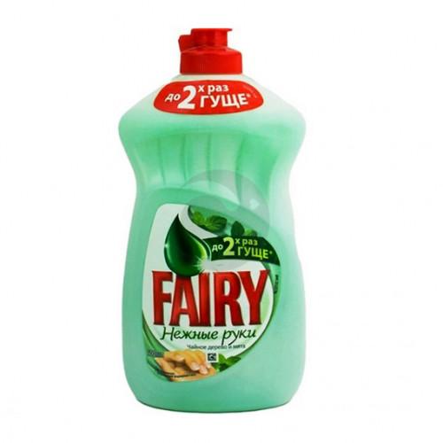 Засіб для посуду Fairy 500мл Чайне дерево і М'ята