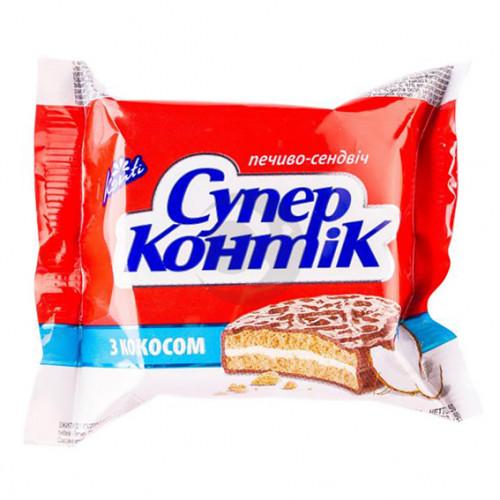 Печиво Супер-Контік 050г кокос