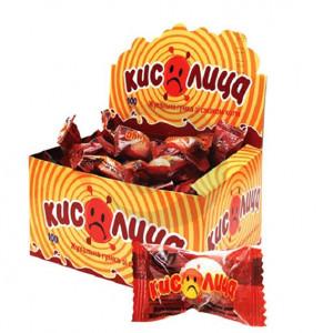 Жевательная конфета Кислица КОЛА 100 шт / бл