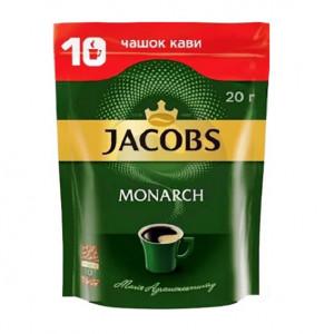 Кава Jacobs Monarch розчинна, 020г м/у