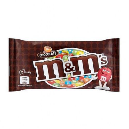 Драже М енд Мс 045г шоколад Марс 24 шт/блок