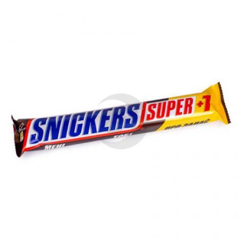 Батончик Снікерс Супер 2+1 112,5г Марс 20 шт/бл