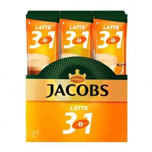 Кофе Jacobs (стик) 3 в 1 Late 12г 24шт