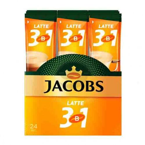 Кава Jacobs (стік) 3 в1 Late 12г 24шт