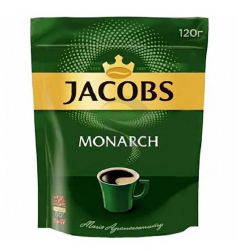 Кава Jacobs Monarch розчинна, 120г м/у
