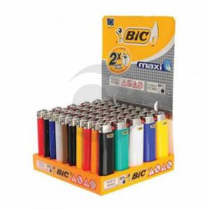 Зажигалка BIC J3 (J23) Миди цветная 50 шт. БЛОК