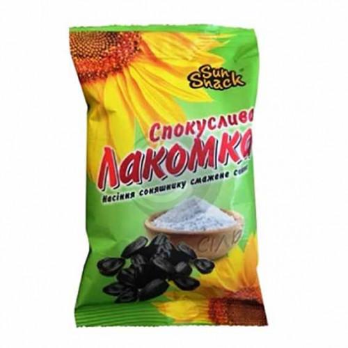 Семечки Соблазнительная Лакомка Sun Snack жареное СОЛЬ 100г