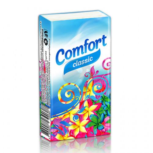 Серветки сухі (носовички) Alsupak Comfort Класичні 10шт