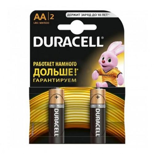 Батарейки Дюрасел (R-6) пальчик (ОРИГ) (2шт) уп.