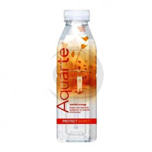 Вода мінеральна AQUARTE ЗАХИСТ Ацерола-Апельсин 0.5л 1уп.