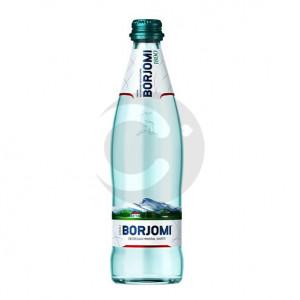Вода минеральная BORJOMI 0,5л газ. ПЭТ. Цена указана за упаковку (1уп / 12бут)