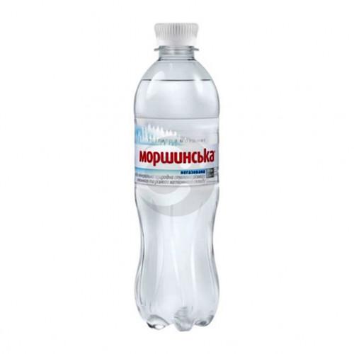 Вода мінеральна Моршинська 0,5л не газована ПЕТ. Ціна вказана за упаковку ( 1уп/12бут)