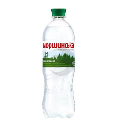 Вода мінеральна Моршинська 0,5л слабогазована ПЕТ. Ціна вказана за упаковку ( 1уп/12бут)