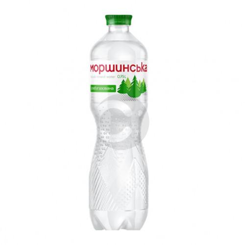 Вода мінеральна Моршинська 0,75л слабогазована ПЕТ. Ціна вказана за упаковку (1уп/12бут)
