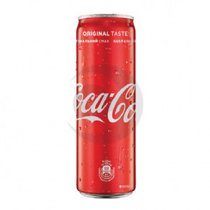 Вода солодка Coca Cola 0,33л З/Б (1уп/12бут)