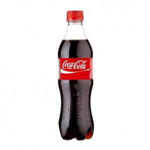 Вода солодка Coca Cola 0,5л (1уп/12бут)