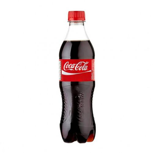 Вода сладкая Coca Cola 0,5л (1уп / 12бут)