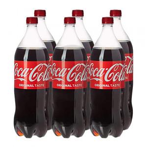Вода солодка Coca Cola 1,5л (1уп/6бут)