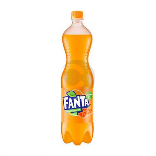 Вода солодка Fanta 1л Апельсин (1уп/12бут)