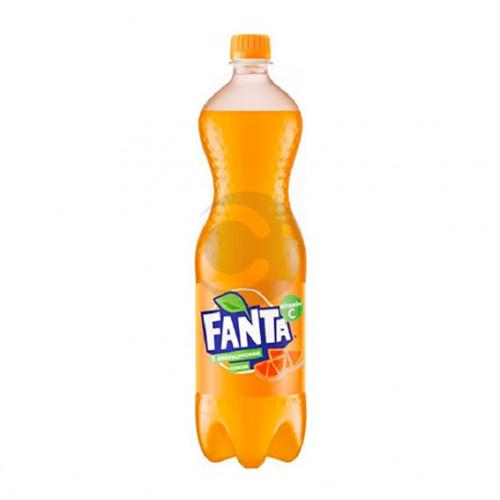 Вода сладкая Fanta 1,5л Апельсин (1уп / 6бут)