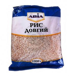ARIA Крупа Рис длиннозерный 1кг