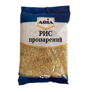 ARIA Крупа Рис пропаренный длиннозерный 1 кг