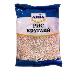 ARIA Крупа Рис круглый 1 кг