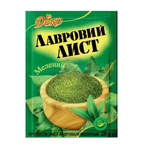 Деко Лавровий лист мелений 20г/140шт