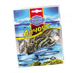 Риба сушена Океан изобилия АНЧОУС солоно-сушений 15гр.