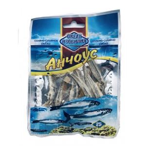 Рыба сушеная Океан изобилия АНЧОУС солено-сушеный 25гр.