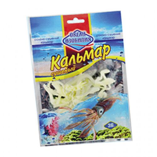 Риба сушена Океан изобилия Кальмар сушений 18гр.