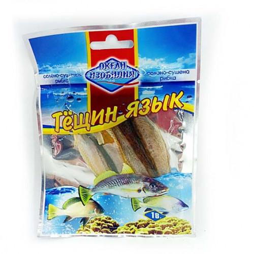 Риба сушена Океан Изобилия Тещин язик 18гр.