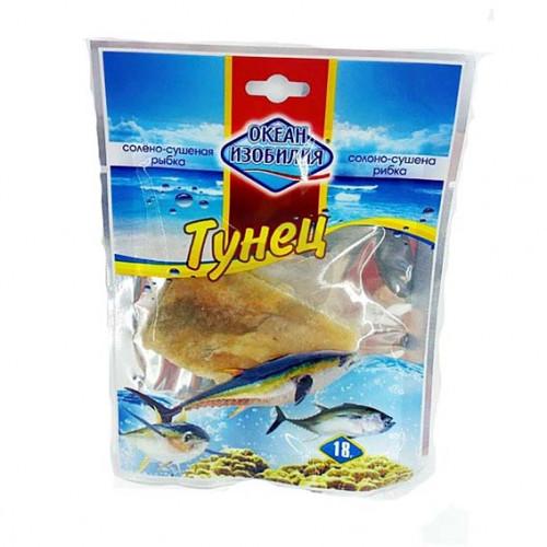 Рыба сушеная Океан изобилия тунец солено-сушеный 18гр.