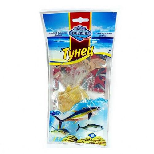 Риба сушена Океан изобилия ТУНЕЦЬ солоно-сушений 30гр.