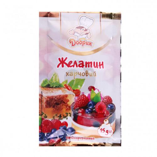 Добрик КД 15г Желатин харчовий