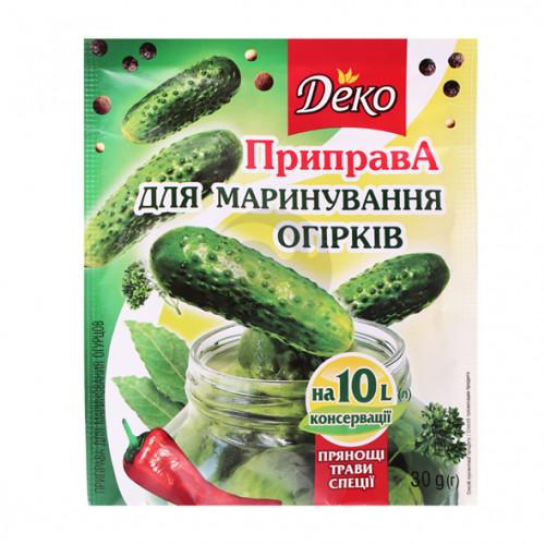 Деко Приправа для маринования Огурцов 30г