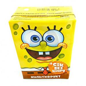 Сок Sponge Bob 0,2л мультифруктовый