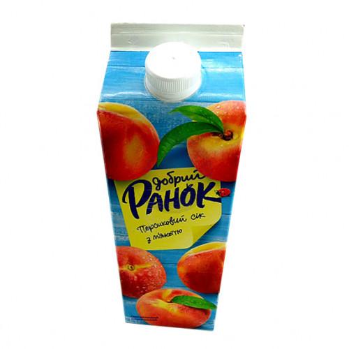 Сок Ранок 1,9л персиковый с мякотью