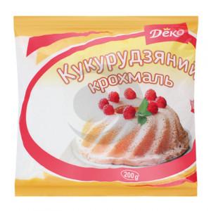 Деко Крохмаль кукурудзяний сухий 200г/15шт